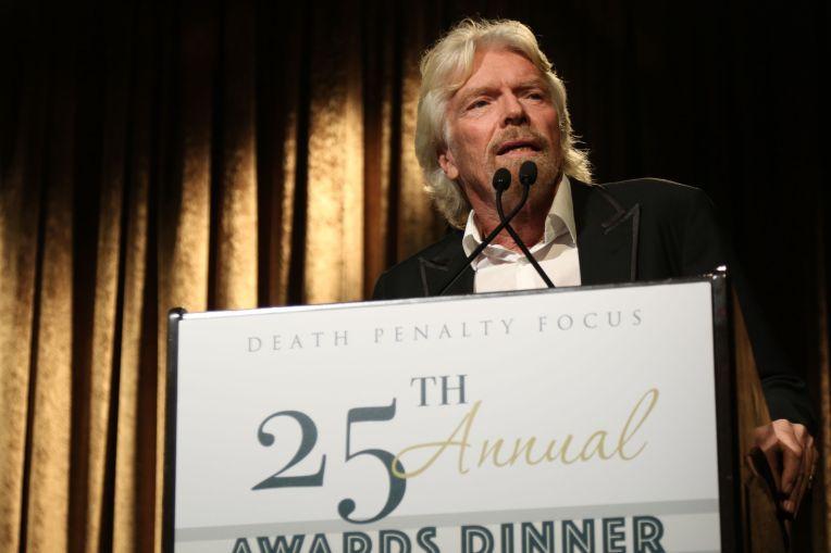 Richard Branson Abolition Award from Death Penalty Focus