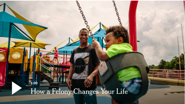 Jarvis Bracy explains how a felony charge can make everything from landing a job to getting into college much more complicated.